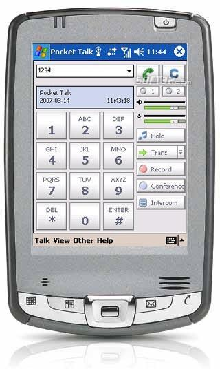 Express Talk Softphone for Pocket PC Screenshot 2