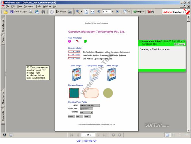 PDFOne Free Screenshot 2