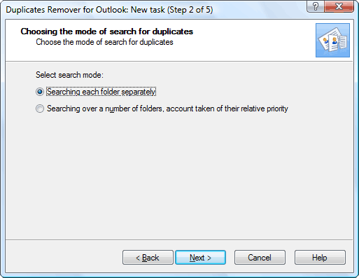 Duplicates Remover for Outlook Screenshot