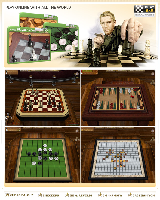3D Board Games Collection Screenshot