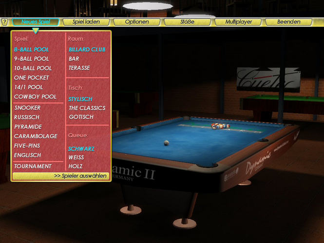 Billiard Kings Screenshot