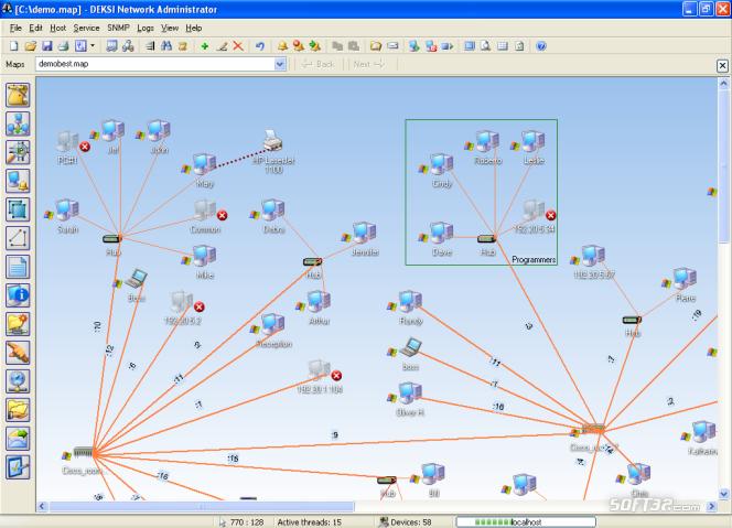 DEKSI Network Administrator Screenshot 3