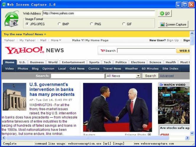 Web Screen Capture Screenshot 3