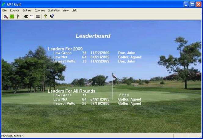 APT Golf Screenshot