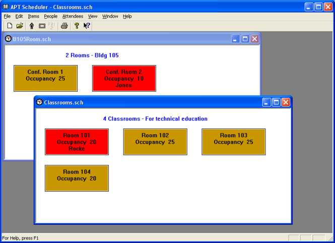 APT Scheduler Screenshot