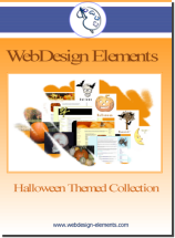 Halloween Web Elements Screenshot