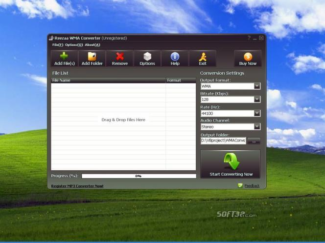 Reezaa WMA Converter Screenshot 3
