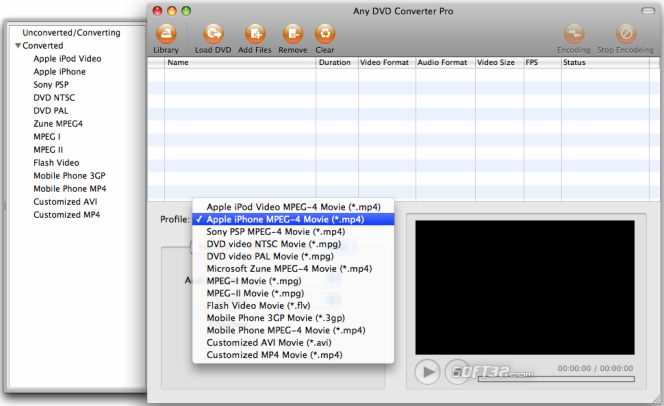 Any DVD Converter for Mac Screenshot 2