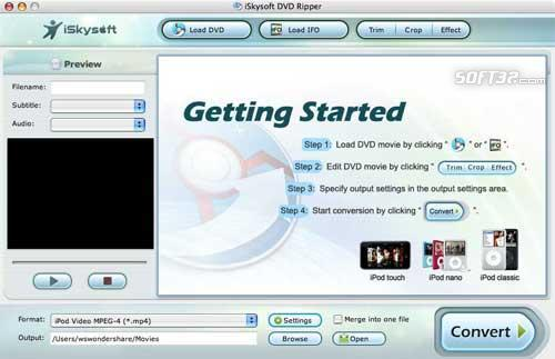 iBestSoft DVD Ripper Pack for mac Screenshot 2