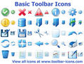 Basic Toolbar Icons 1