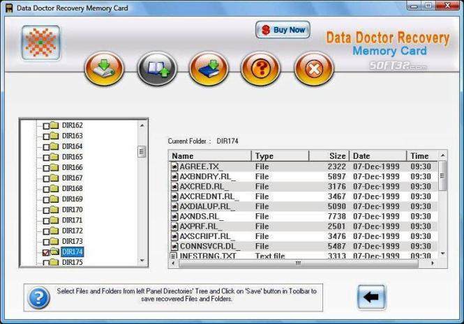 Sony Memory Stick Files Recovery Tool Screenshot 2