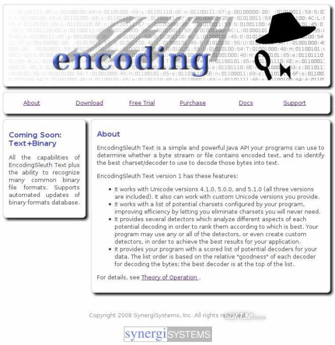 EncodingSleuth Screenshot