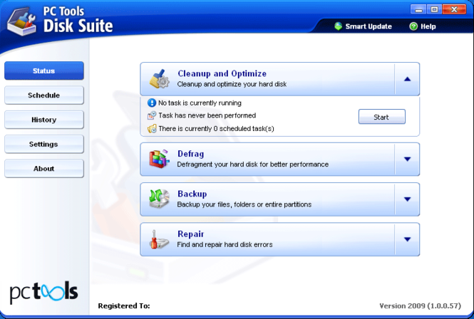 PC Tools Disk Suite Screenshot