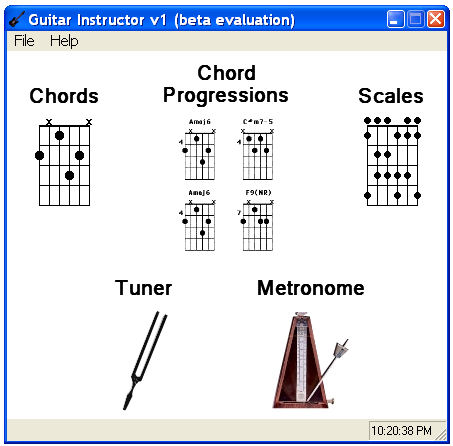 Guitar Instructor V1 Screenshot