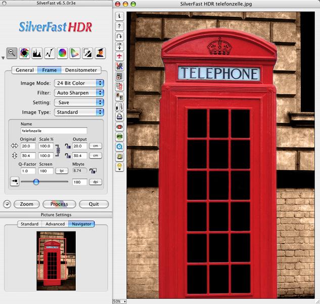 SilverFast HDR (Win) Screenshot