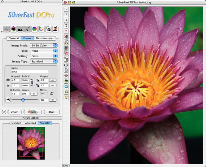 SilverFast DC Pro (Mac) Screenshot
