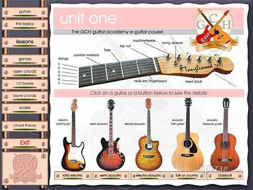 GCH Guitar Academy course (Mac OSX) Screenshot 2