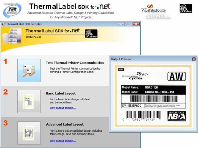 ThermalLabel SDK for .NET Screenshot 2