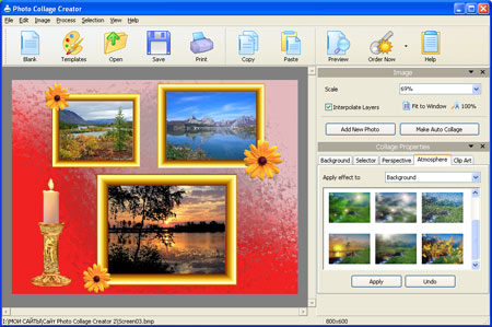 Photo Collage Creator Screenshot