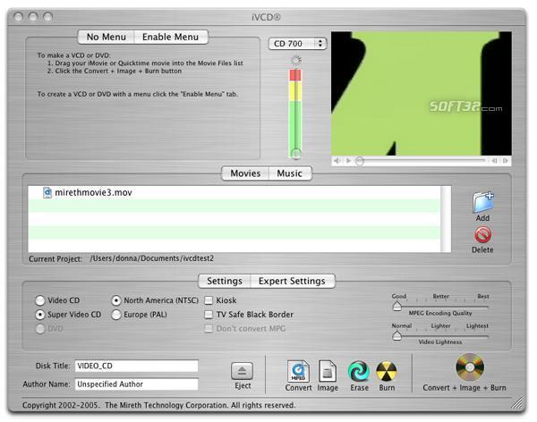 iVCD Screenshot 2