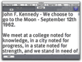 Prompt! teleprompter for Mac OSX 1