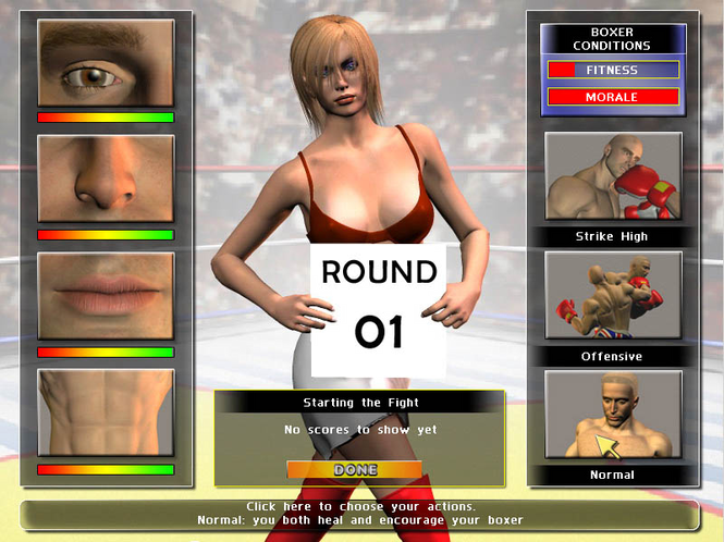 Universal Boxing Manager (Mac) Screenshot
