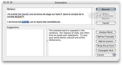 Grammatica English Screenshot 1