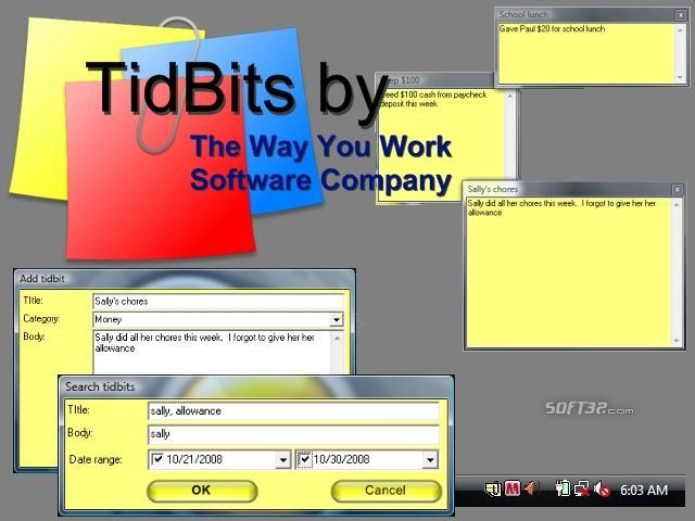 TidBits Screenshot