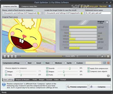 Flash Optimizer Screenshot 2