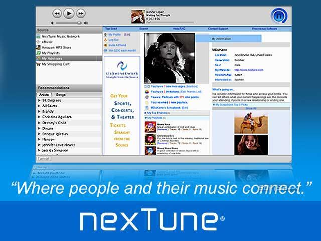 NexTune Nexus Screenshot
