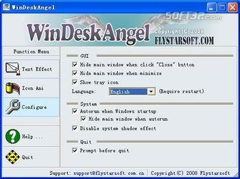 WinDeskAngel Screenshot 2