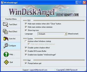 WinDeskAngel Screenshot 1