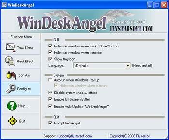 WinDeskAngel Screenshot