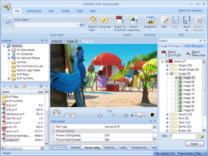 Flash and Video Converter Suite Screenshot