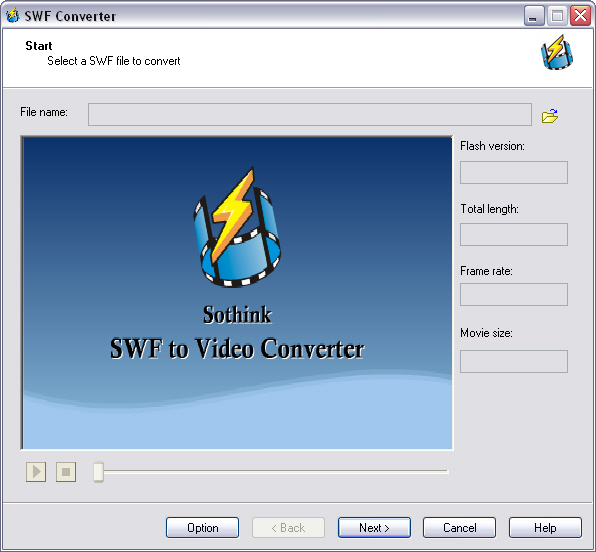 Flash Maker and Converter Suite Screenshot