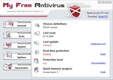 My Free Antivirus Screenshot