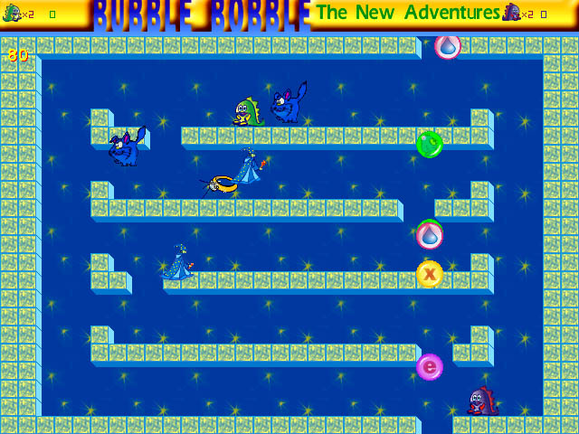 Bubble Bobble: The New Adventures Screenshot