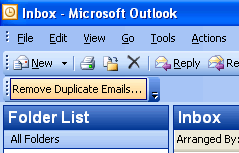 Remove Duplicate Emails for Outlook Screenshot 1