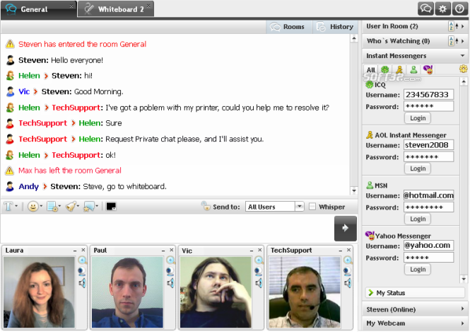 Corporate Chat Screenshot 3