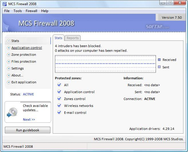 MCS Firewall 2008 Screenshot