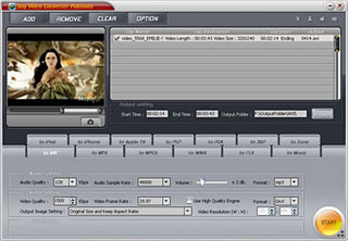 Sog Video Converter Platinum Screenshot