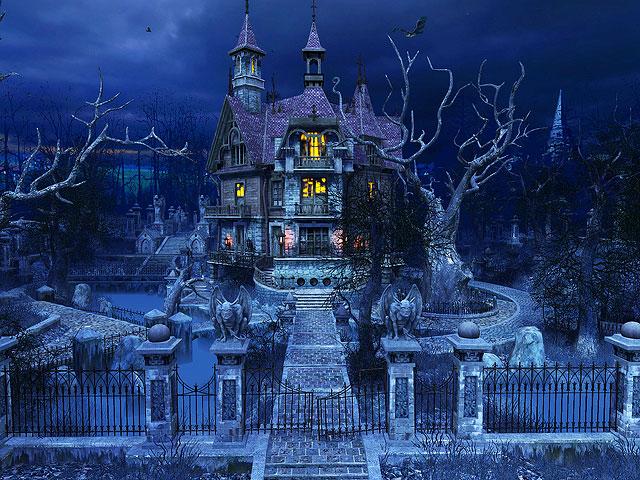 Haunted House 3D Screensaver Screenshot 1