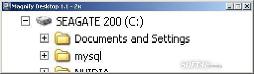 Magnify Desktop Screenshot 1