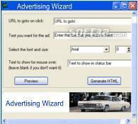 Ipod Movies Games Avertising Wizard Screenshot 2
