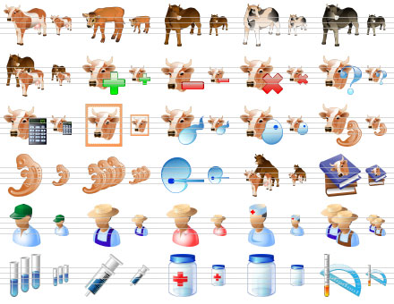 Standard Agriculture Icons Screenshot