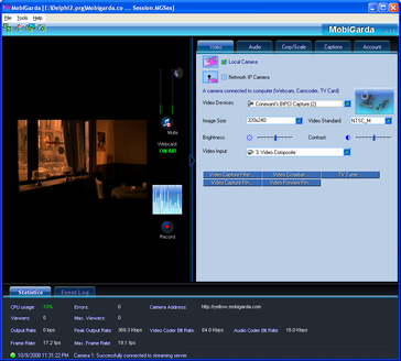 MobiGarda Screenshot 1