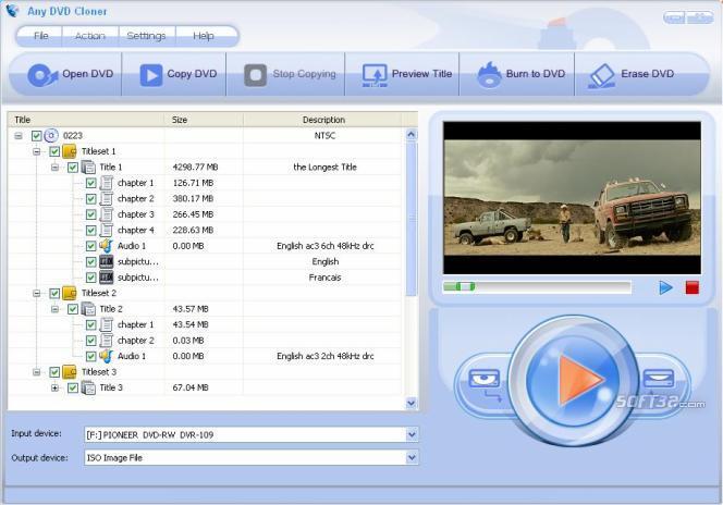 Any DVD Cloner Express Screenshot 3
