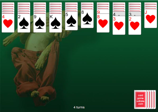 Spider Solitaire 2-Suit Screenshot 2