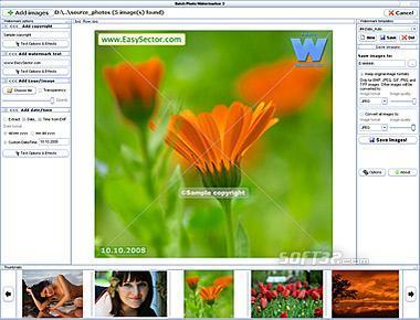 Batch Photo Watermarker Screenshot 3