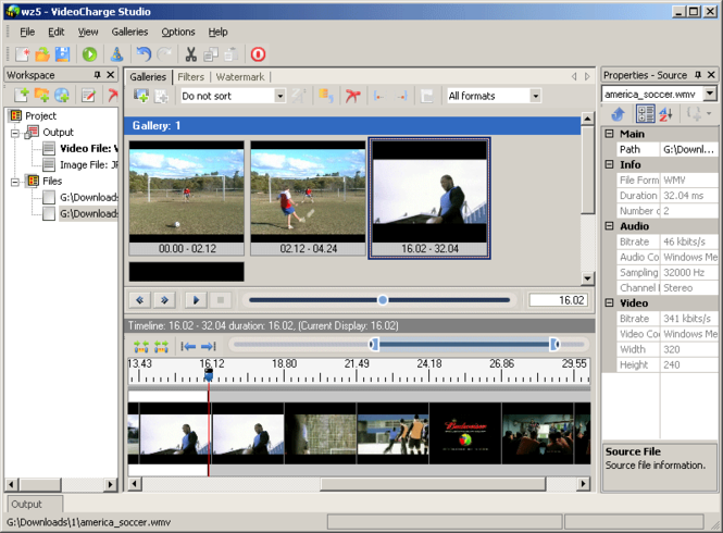 Videocharge Studio Screenshot 1